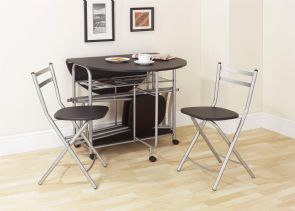 Stowaway Dining Set Black - 4403